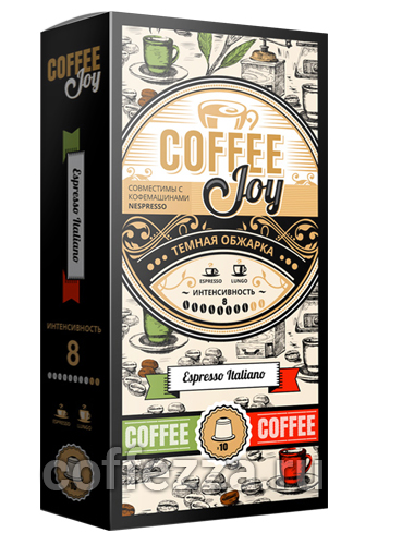 картинка Coffee Joy Espresso Italiano от интернет-магазина Coffezza