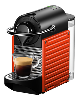 картинка Nespresso Pixie Electric Red от интернет-магазина Coffezza