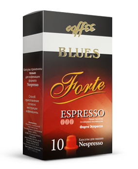 картинка Blues coffee Forte от интернет-магазина Coffezza