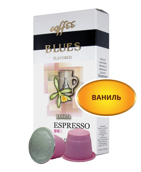 картинка Blues Coffee ваниль от интернет-магазина Coffezza