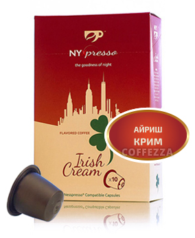 картинка Nixpresso Irish Cream от интернет-магазина Coffezza